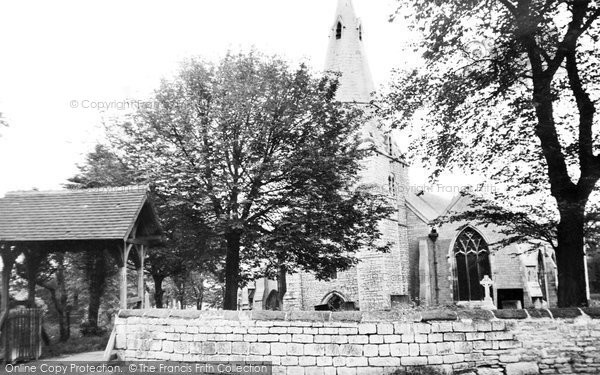 Bolsover, the Church c1955