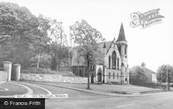 Bolsover, Hill Top Church c.1960