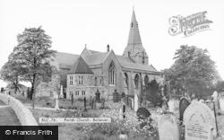 Bolsover, Parish Church c.1960