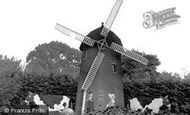 Bolsover, Sherwood Lodge Windmill c1955