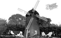 Bolsover, Sherwood Lodge Windmill c.1955