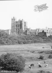 Bolsover, The Castle c.1955
