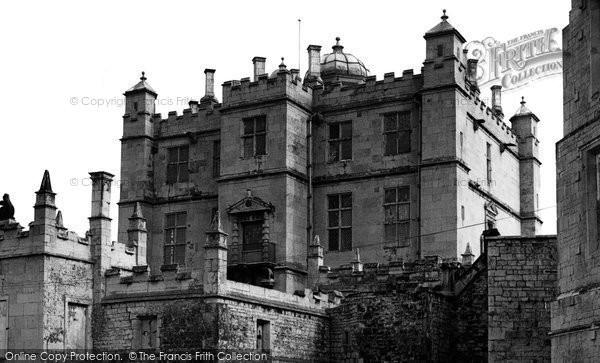 Bolsover, the Castle c1955