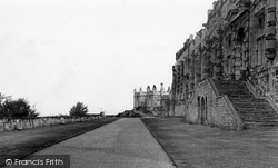 Bolsover, The Castle Terrace c.1955