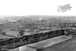 Bolsover, View From The Castle c.1955