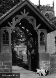 Bolsterstone, Entrance To Church Gate c.1965