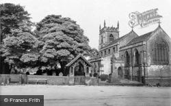 Bolsterstone, St Mary's Church And Stocks c.1960