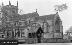 Bolsterstone, St Mary's Church c.1955