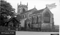 Bolsterstone, St Mary's Church c.1965