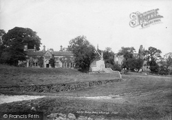 Bolton Abbey, Abbey And Vicarage 1893