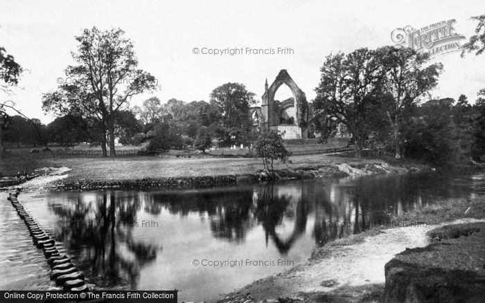Photo of Bolton Abbey, And Stepping Stones 1893
