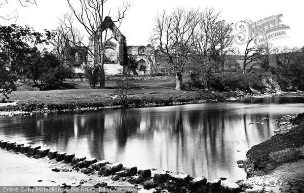 Bolton Abbey, And Stepping Stones c.1874