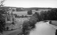 Bolton Abbey, And The River c.1960