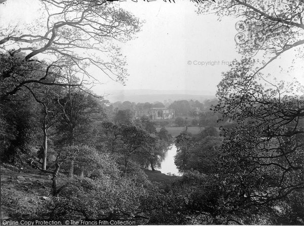 Bolton Abbey, And Wood c.1890
