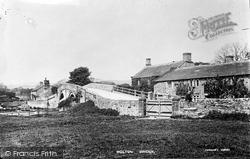 Bolton Abbey, Bolton Bridge c.1890