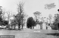 Bolton Abbey, Bolton Hall c.1890