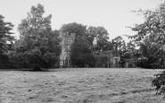 Bolton Abbey, Bolton Hall c.1965