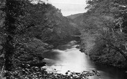 Bolton Abbey, Bolton Woods, Down The River c.1867