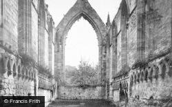 Bolton Abbey, Choir East 1886