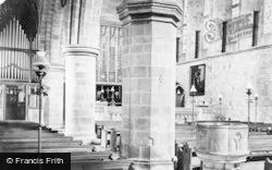 Bolton Abbey, Church, Across Nave 1888