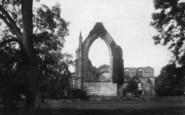 Bolton Abbey, East End 1886