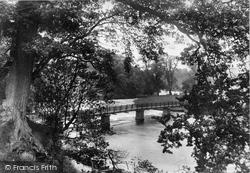 Bolton Abbey, Footbridge 1909