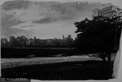 Bolton Abbey, From River 1886