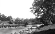Bolton Abbey, From The River c.1885