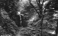 Bolton Abbey, Gill Beck Fall 1886