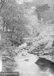 Bolton Abbey, Kesh Beck, Beamsley c.1890