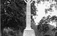 Bolton Abbey, Lord Cavendish's Cross c.1885