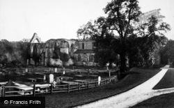 Bolton Abbey, North Side c.1885
