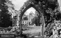 Old Refectory Arch c.1890, Bolton Abbey