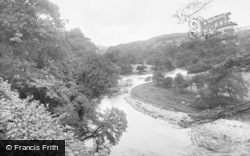 Bolton Abbey, On The River Wharfe 1921