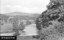 Bolton Abbey, River Wharfe And Beamsley Beacon 1923
