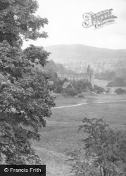 Bolton Abbey, Showing Deer Park 1921