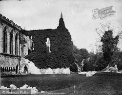 Bolton Abbey, South Side Of Chancel c.1874