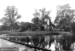 Bolton Abbey, Stepping Stones c.1885