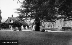 Bolton Abbey, The Green c.1960
