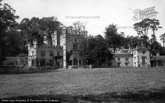 Photo of Bolton Abbey, The Hall 1893