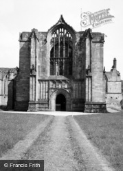 Bolton Abbey, The Priory Church 1960