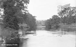Bolton Abbey, The River c.1890