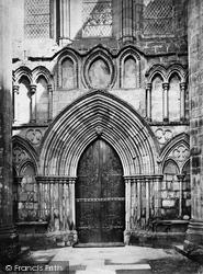 Bolton Abbey, West Door c.1874