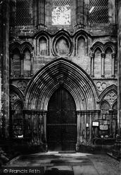 Bolton Abbey, West Door c.1885