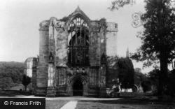 Bolton Abbey, West Front 1886