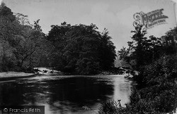 Bolton Abbey, Woods, Meeting Of The Waters 1888