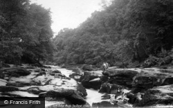 Bolton Abbey, Woods, The Strid 1893