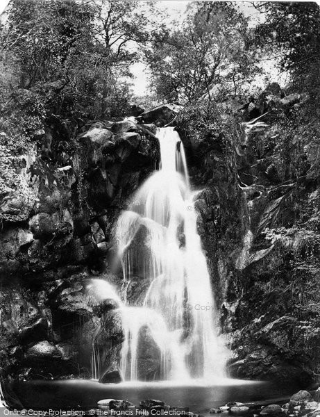 Bolton Abbey, Woods Waterfall c.1874