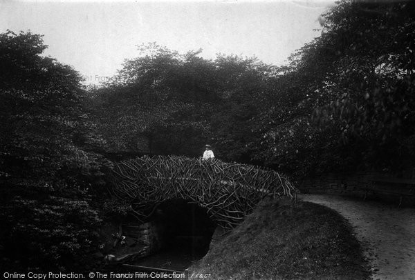 Bolton, Bridge In The Park 1893