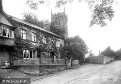 Bolton By Bowland, Church Gates 1921, Bolton-By-Bowland
